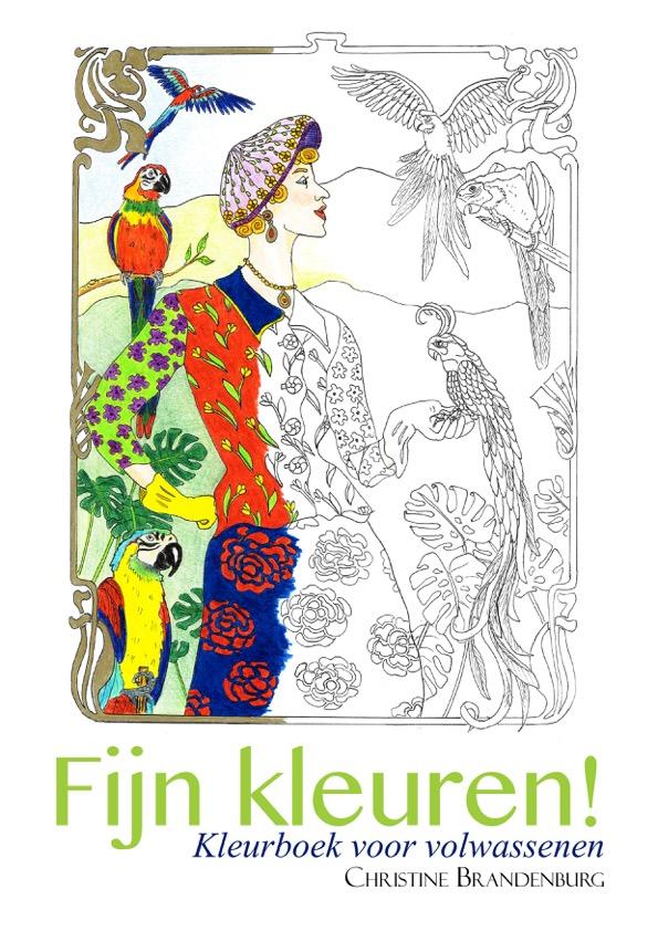 Fijn kleuren! Kleurboek voor volwassenen