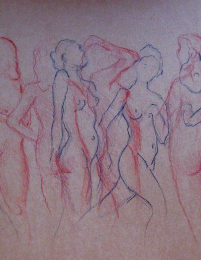 Modellen Rood en Blauw