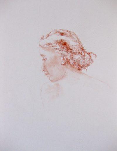 Portret Jong Meisje