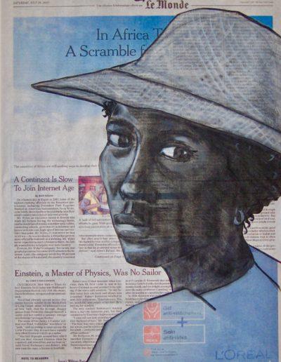Portret Op de Krant I